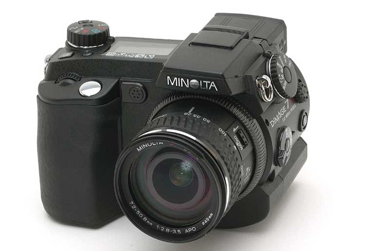 minolta dimage 7i digital camera