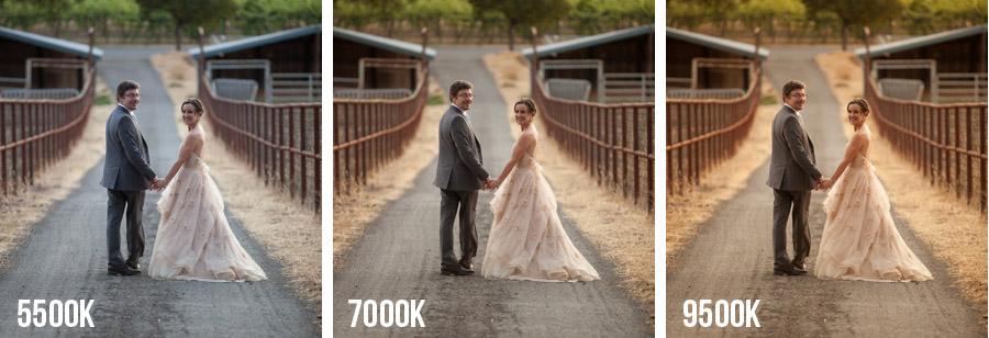 Resultado de imagen para white balance wedding