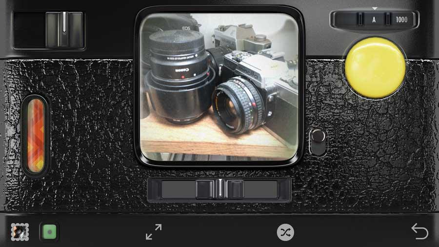 Hipstamatic camera app