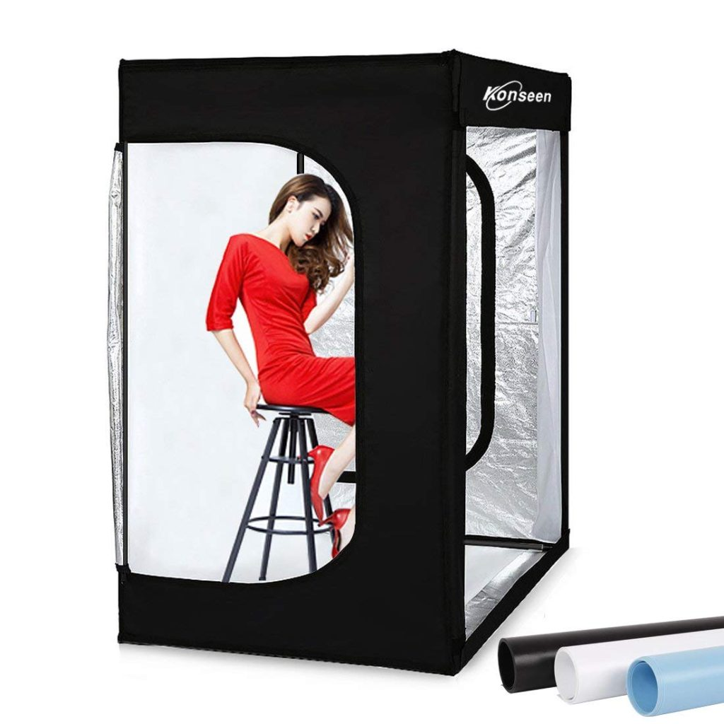 pop up led portrait studio