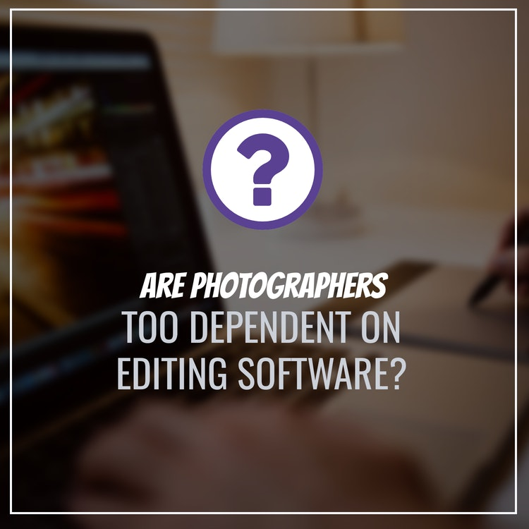 do photographers depend too much on photoshop