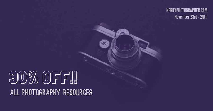 black friday cyber monday deals photography photographers