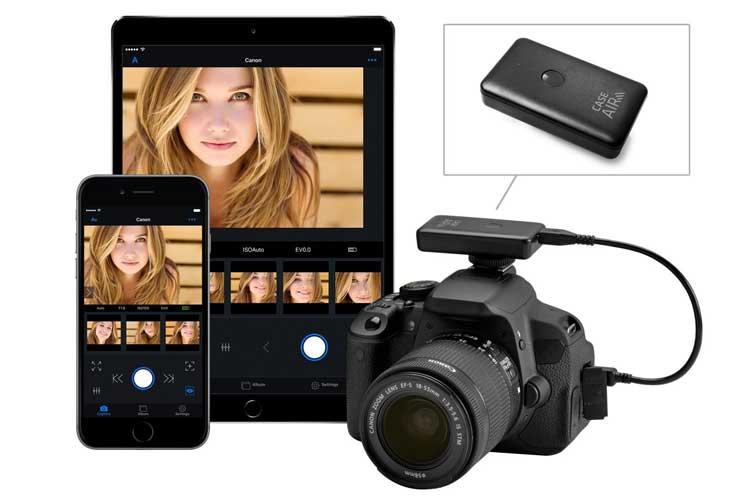 wireless camera control