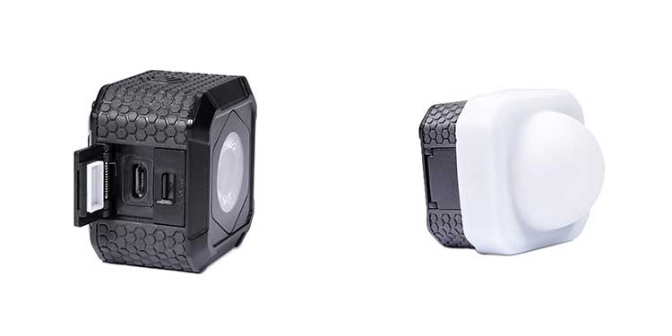 lumecube air portable bluetooth controlled LED light