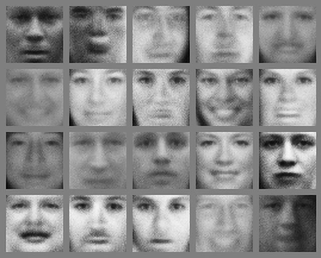 2014 AI generated portraits