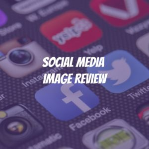 social media image review audit