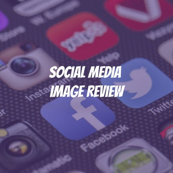 social media image review audit