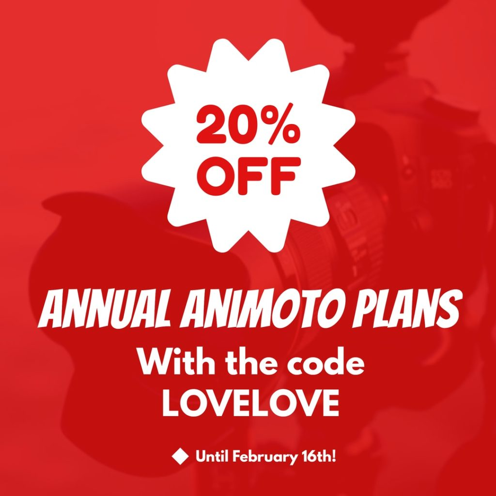 Save on Animoto subscription