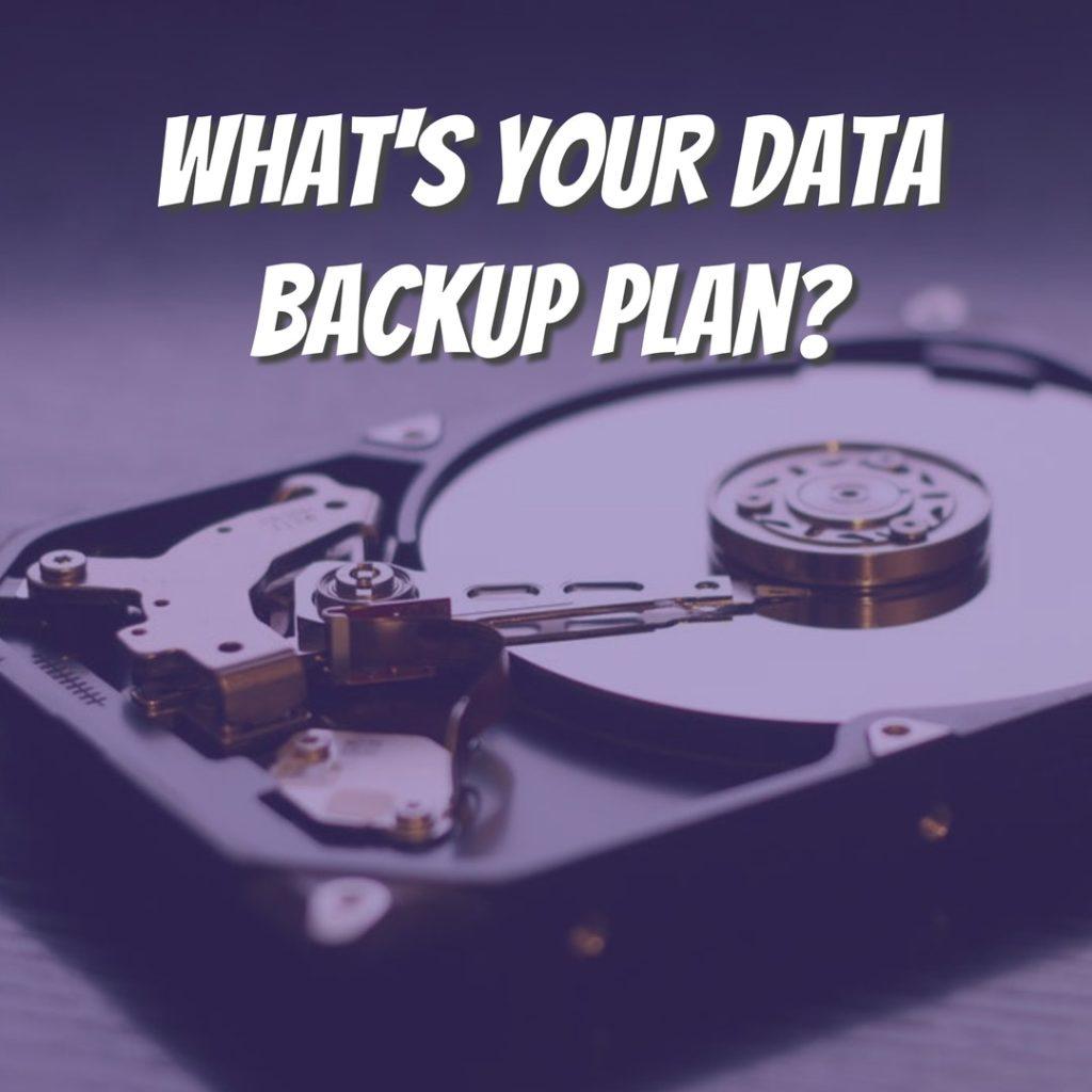 photographer data backup