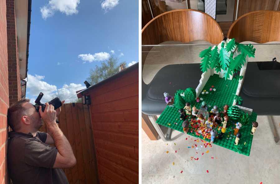 lego wedding behind the scenes