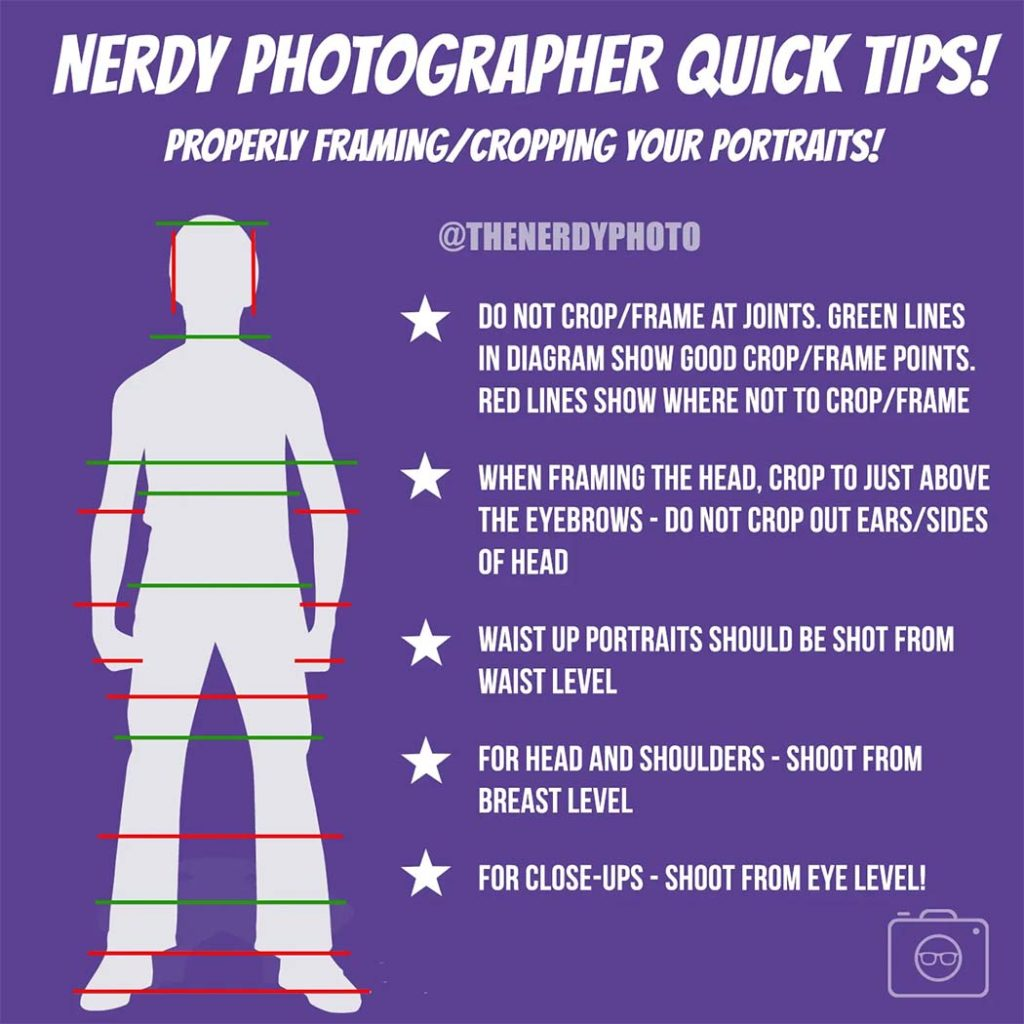 how to crop portrait photos cropping pictures guidelines