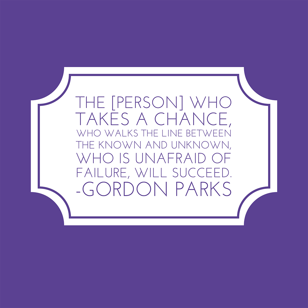 gordon parks quote