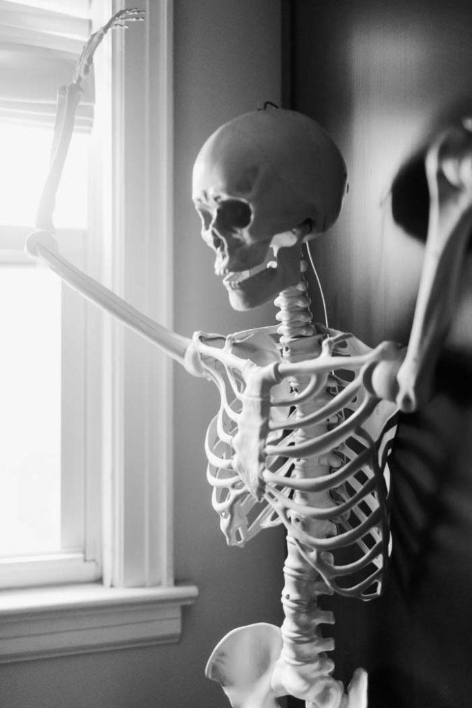 skeleton boudoir