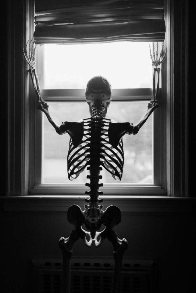 bare bones boudoir