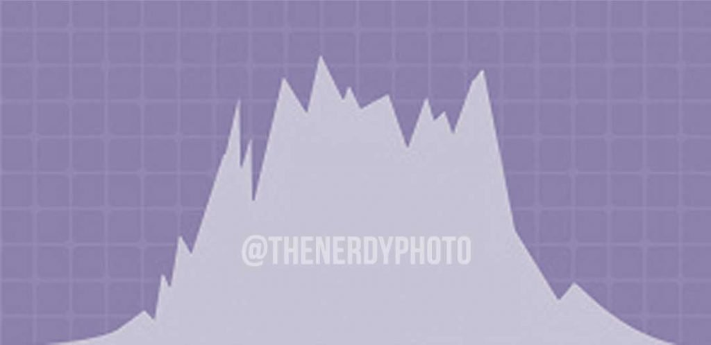 neutral exposure photo histogram