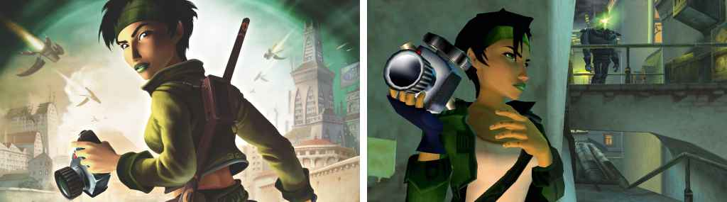 Jade - fictional photojournalist photographers in video games and pop culture