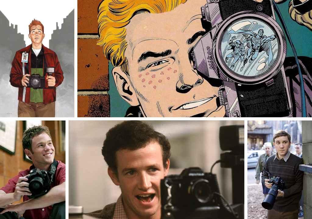 fictional photographers in comic books - jimmy olson