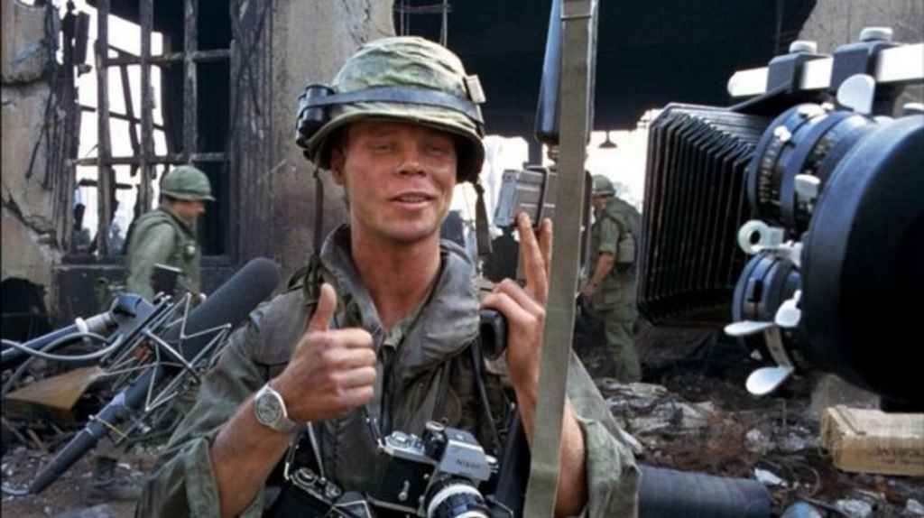 Rafterman - fictional photographer in the movie Full Metal Jacket