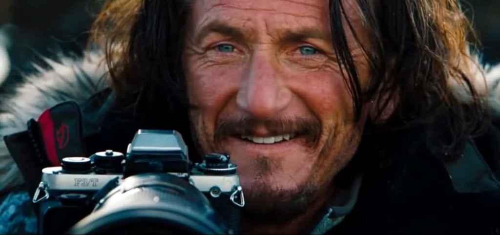 Sean Penn as fictional photographer Sean O'Connell