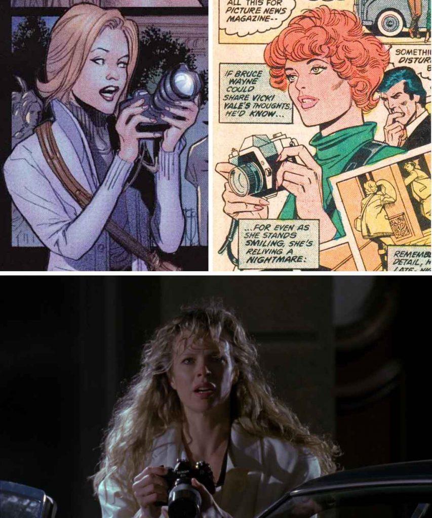 fictional photographers in comic books - vicki vale