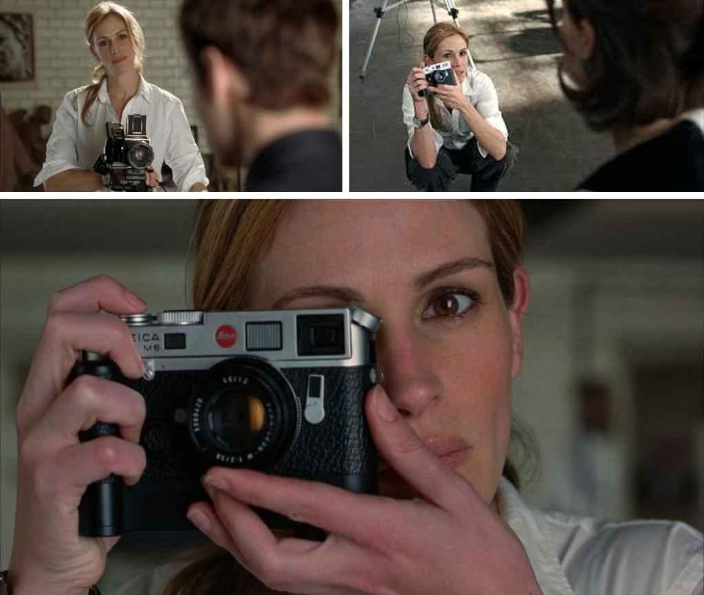 Julia Roberts plays portrait photographer Anna in Closer