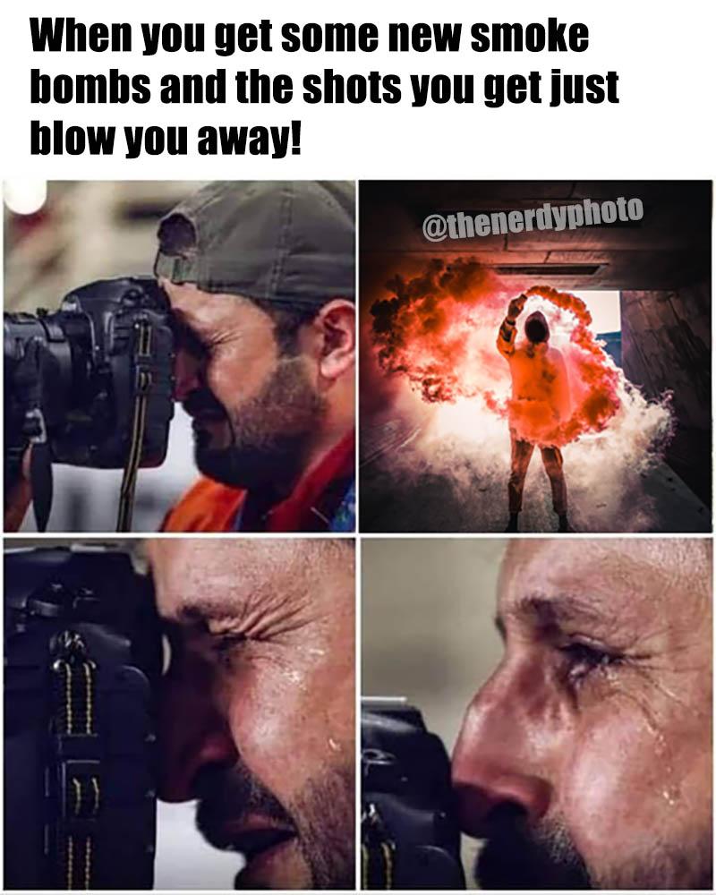 smoke bomb photos