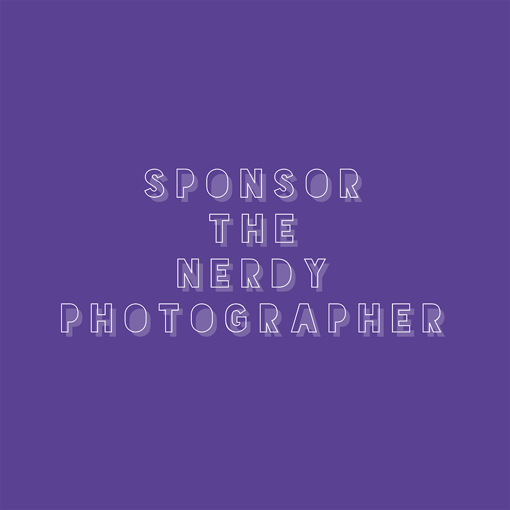 advertise to photographers on a photography podcast when you sponsor the nerdy photographer