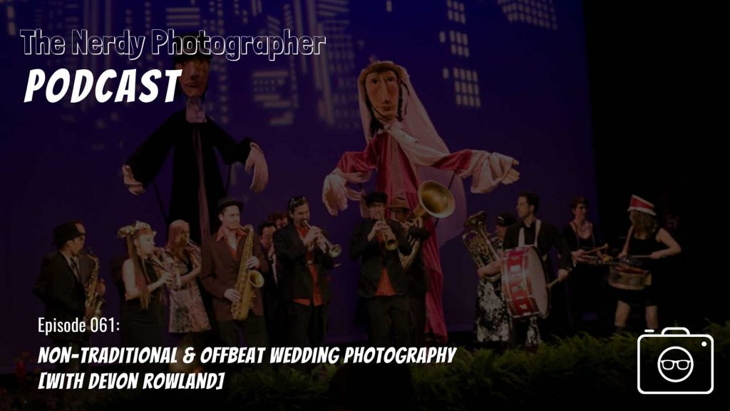 offbeat and non-traditional wedding photography podcast episode